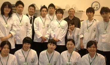 Japanese student visitors